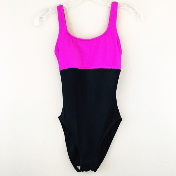 4b991e701848f Anne Klein Other - Anne Klein Vintage Style Color Block Swimsuit